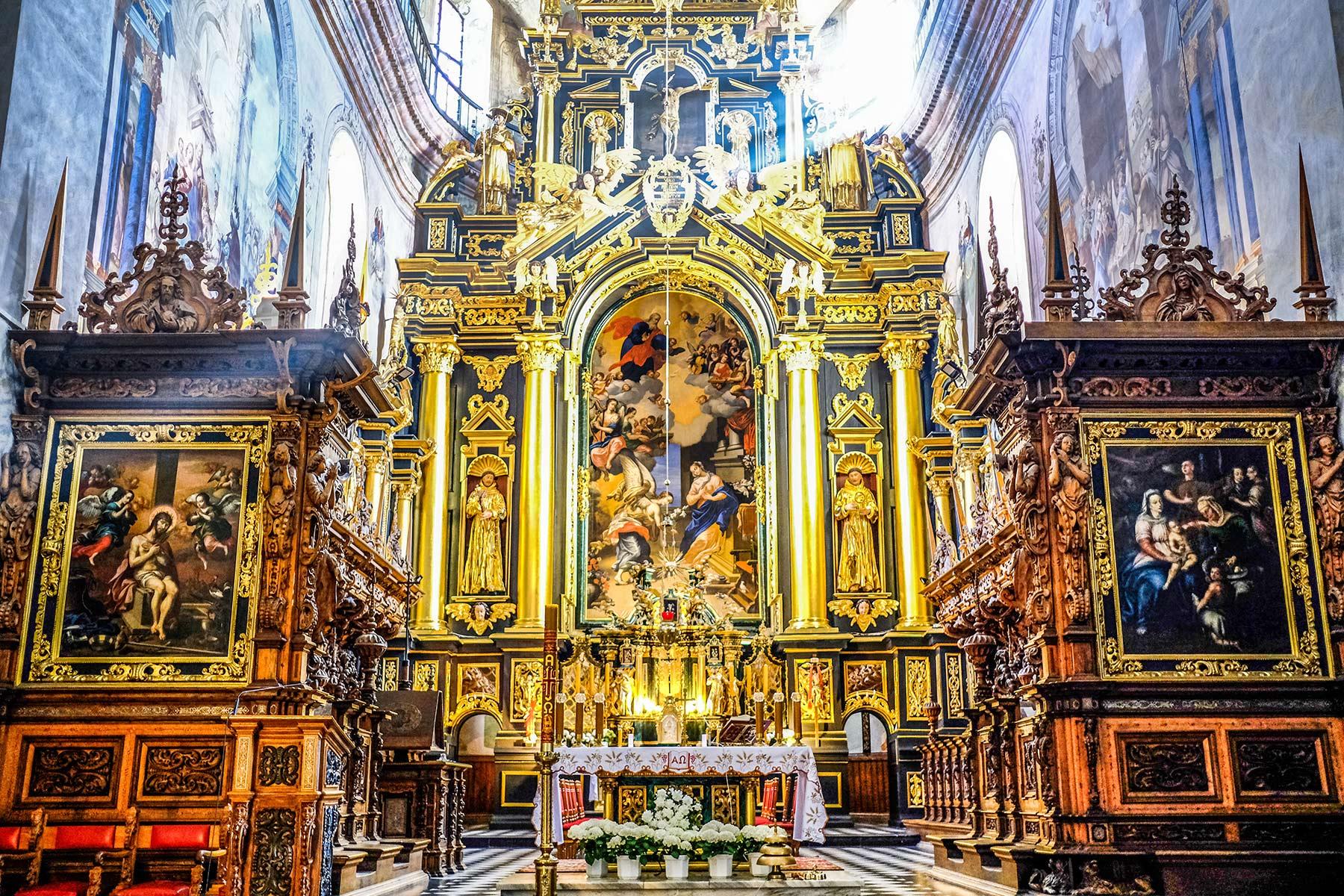 Ołtarz Główny - Leżajsk Sanktuarium